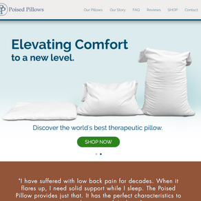 Poised Pillows