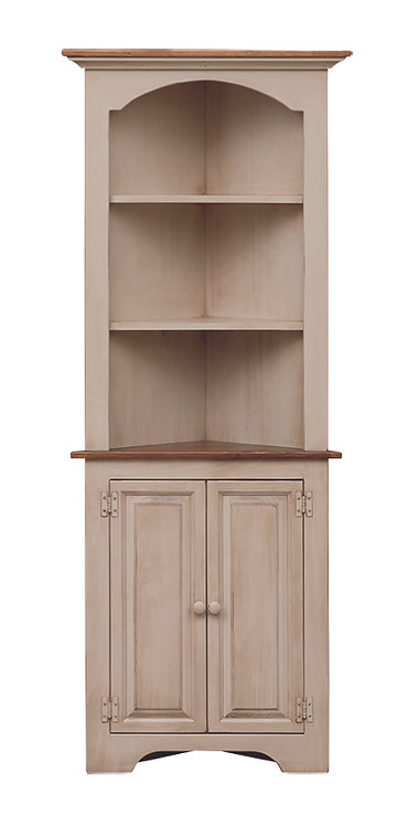 Small Corner Cupboard Colonial Style