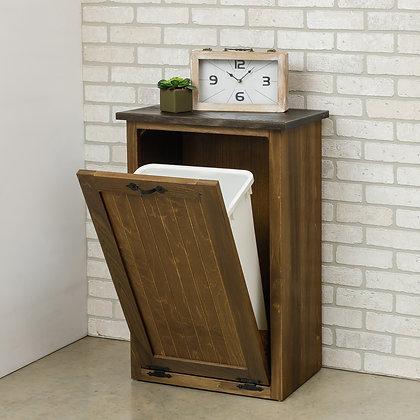 Garbage Bin with Shelf
