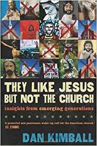 They Like Jesus, But Not the Church
