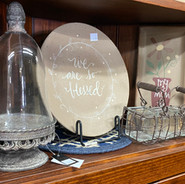 Dishes and decor