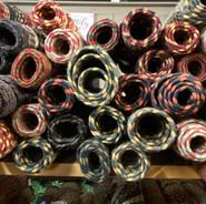 Hand-made amish rugs