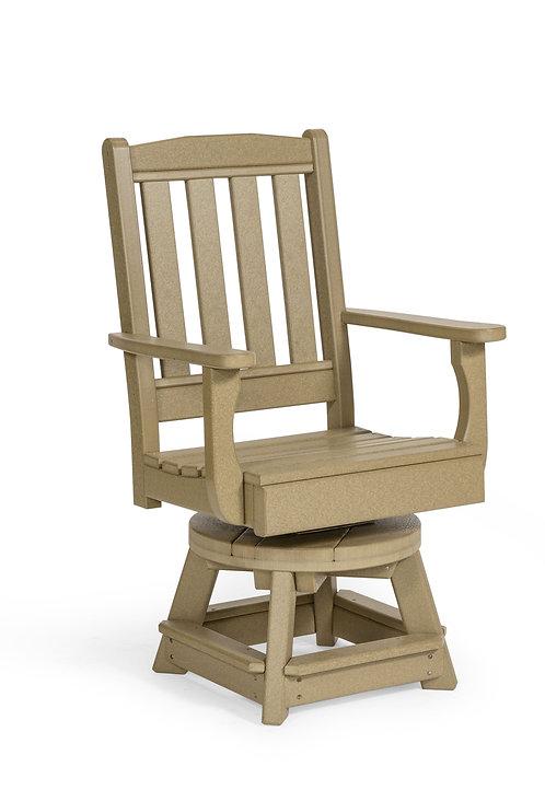 English Garden Swivel Chair