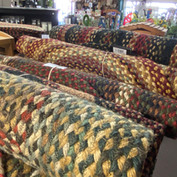 Authentic amish-made rugs