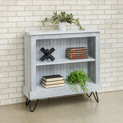 "3' Bookcase with 6"" hairpin legs"