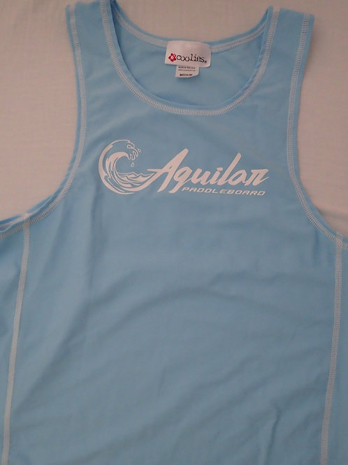 Blue Tank Top Rashguard
