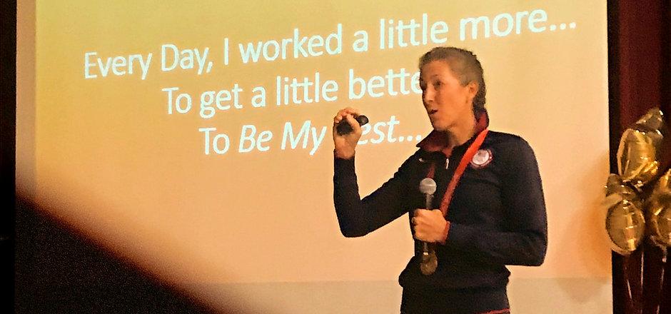 Lindsay Shoop motivational speaker