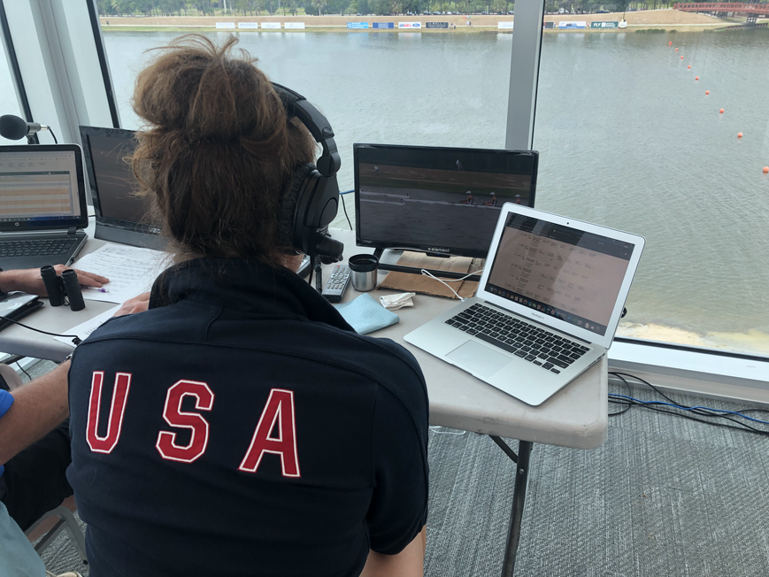 My Headlong Dive Into Live Commentary for USRowing