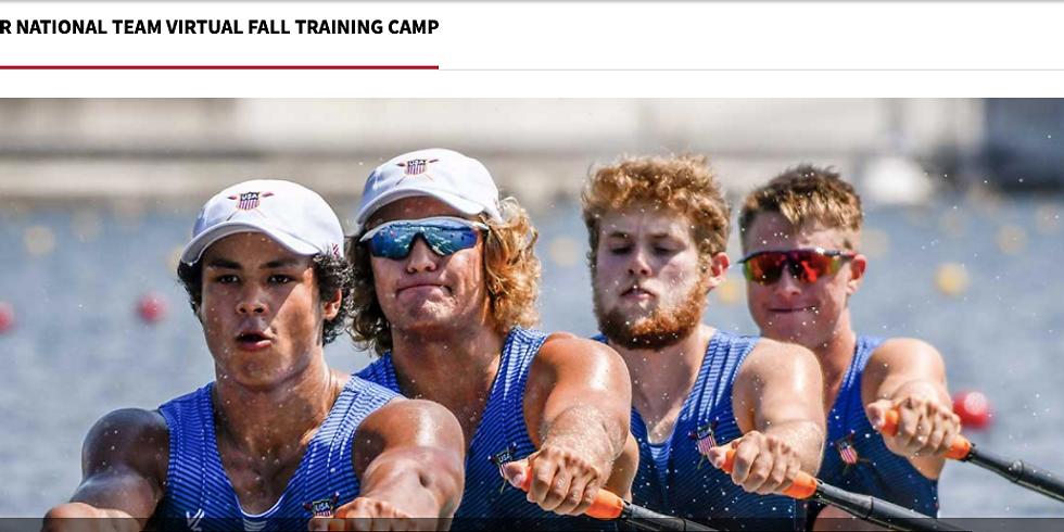 USRowing Junior National Team Virtual Fall Training Camp
