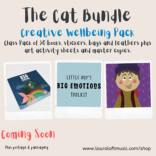 The Cat Bundle: Creative Wellbeing Pack