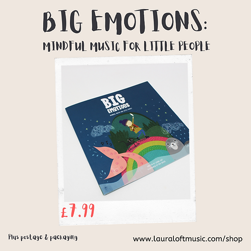 BIG EMOTIONS: Mindful Music for Little People Book