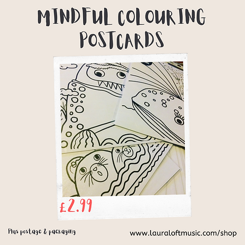 BIG EMOTIONS: Mindful  Music For Little People Postcards