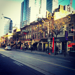 Restaurant Row 2013 Toronto