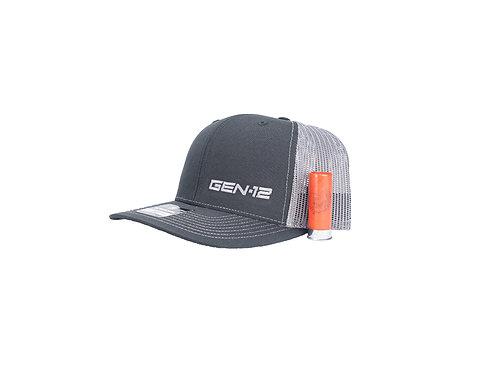 GEN-12 BLACK/ GREY  SNAP BACK