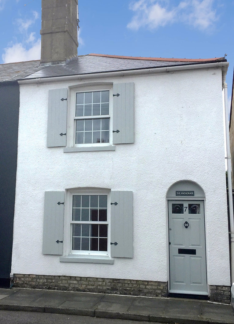 The Anchorage Holiday Cottage Walmer - front