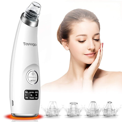Blackhead Vacuum Remover Acne Remover - Facial Pore Cleanser Electric
