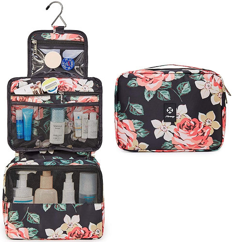 Hanging Travel Toiletry Bag Cosmetic Make up Organizer for Women