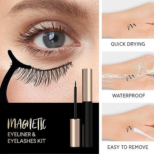 easbeauty 2020 Upgraded Magnetic Eyeliner and Eyelashes Kit
