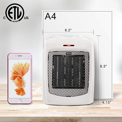 andily Space Heater Electric Heater for Home and Office