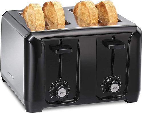 Hamilton Beach Extra-Wide Slot Toaster with Shade Selector, Toast Boost