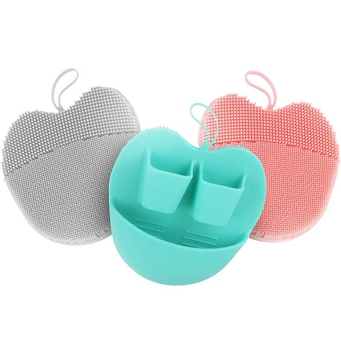 INNERNEED Soft Handheld Silicone Facial Cleansing Brush