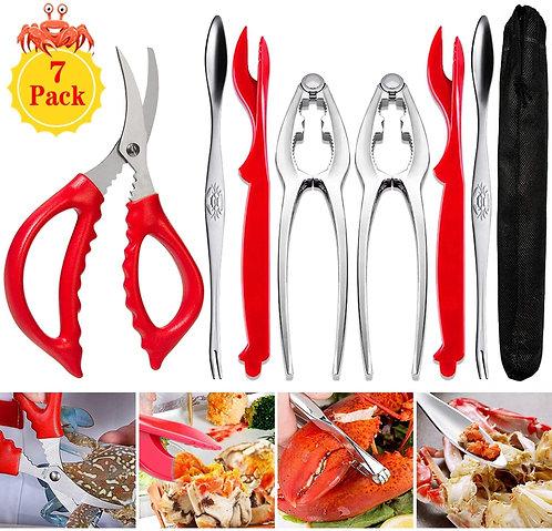 Crab Leg Crackers and Tools