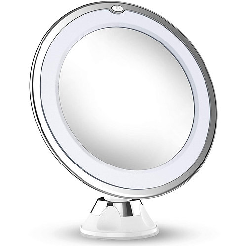 Updated 2020 Version 10X Magnifying Makeup Vanity Mirror with Lights