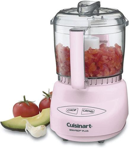 Cuisinart DLC-2APK Mini-Prep Plus Food Processor, 24 Ounce, Pink