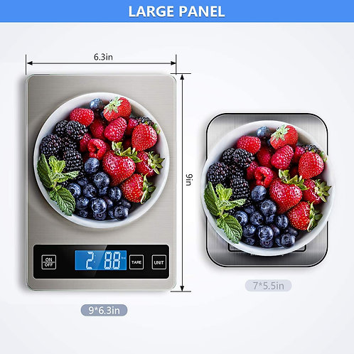 Nicewell Food Scale, 22lb Digital Kitchen Scale Weight Grams