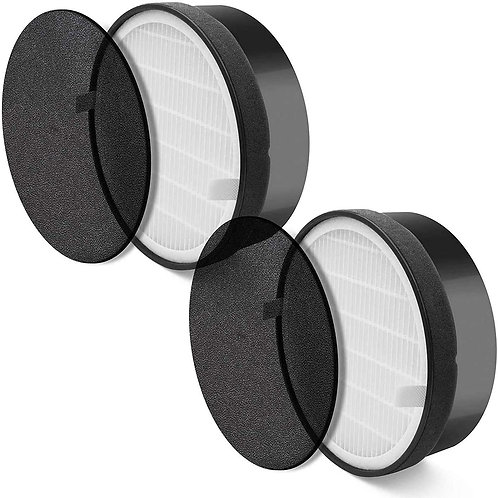 LEVOIT LV-H132-RF 2 Pack Replacement-High-Efficiency Activated Carbon Filter