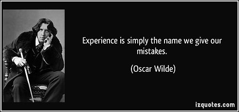 quote-experience-is-simply-the-name-we-g