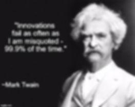 Mark Twain on Innovation Failure Rates.j
