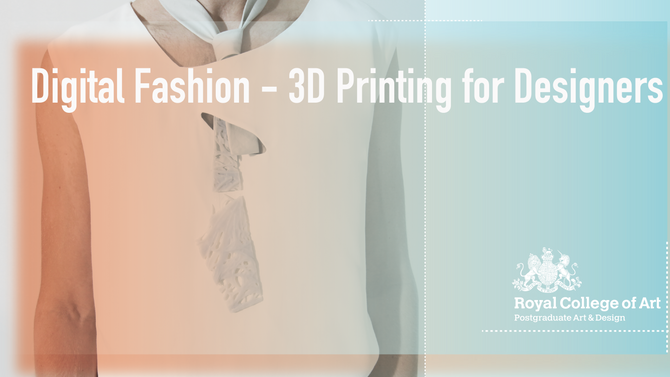 Digital Fashion-3D Printing for Designers