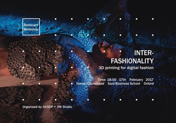 INTER-FASHIONALITY: 3D printing for digital fashion