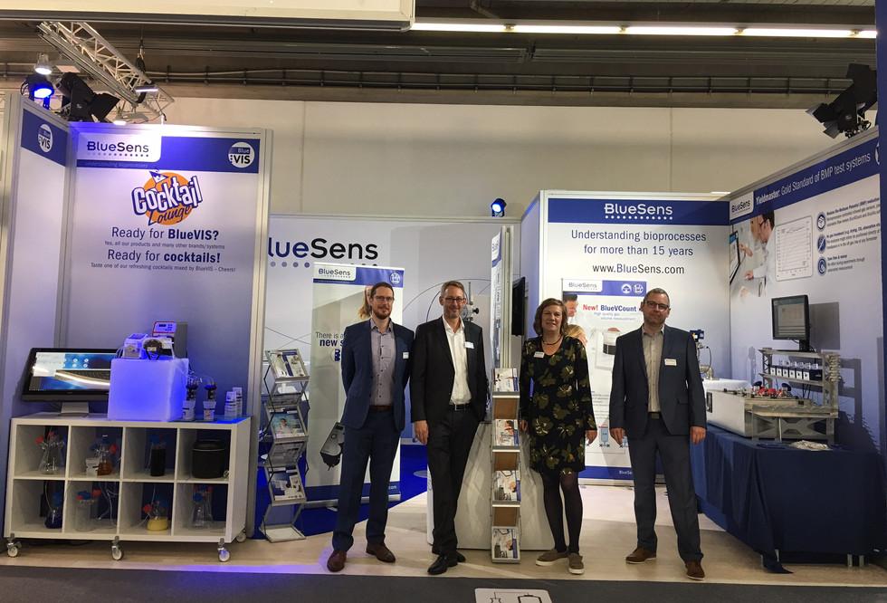 Messe BlueSens Achema 2019