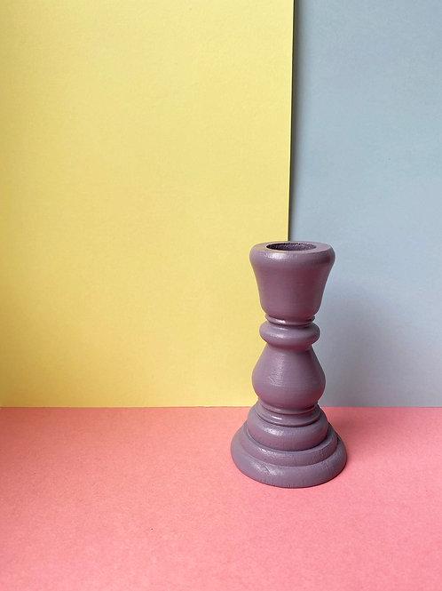 Petite lilac candle stick