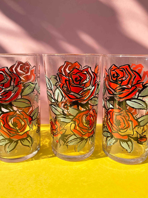 Rose are red set of 5