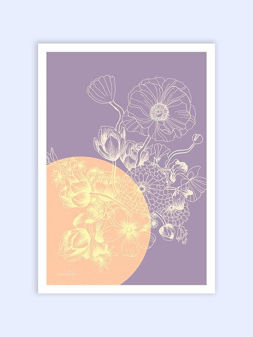 Lilac Love print