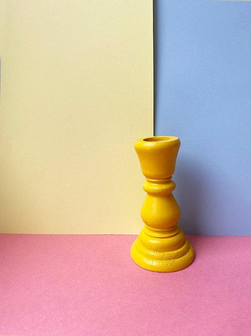 Petite yellow candle stick