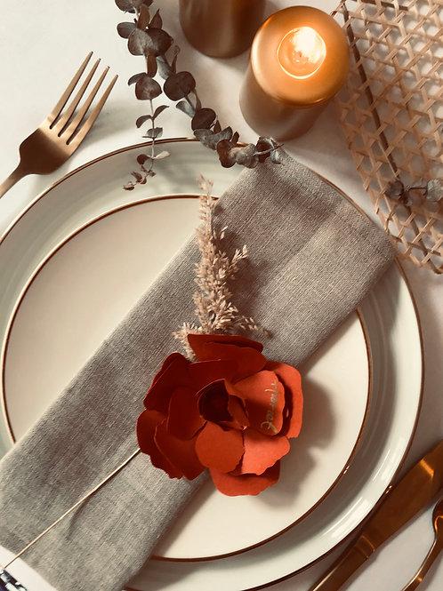 Day Dream handmade paper wild rose