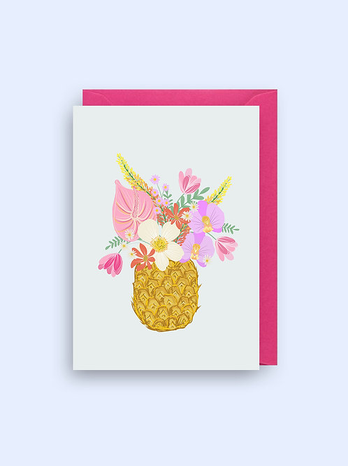 Floral Ananas