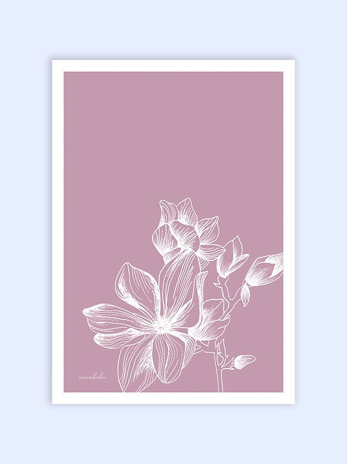 Modern Magnolia print