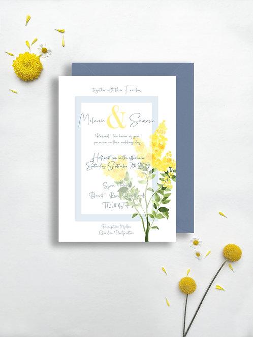 Classic Sunshine Invite