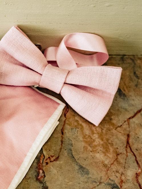 Bespoke handmade bow tie
