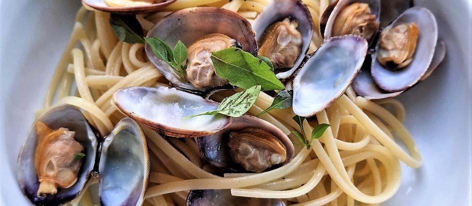 Pasta alle vongole, pâtes aux palourdes, le grand classique italien