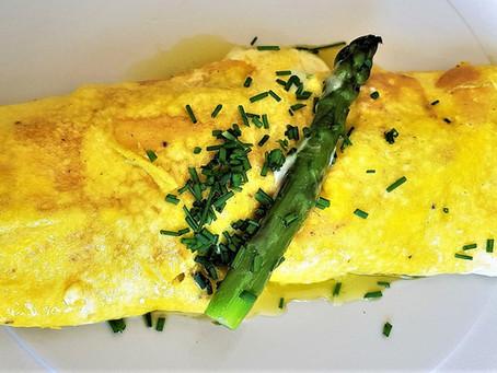 Variations sur l'asperge verte etl'œuf