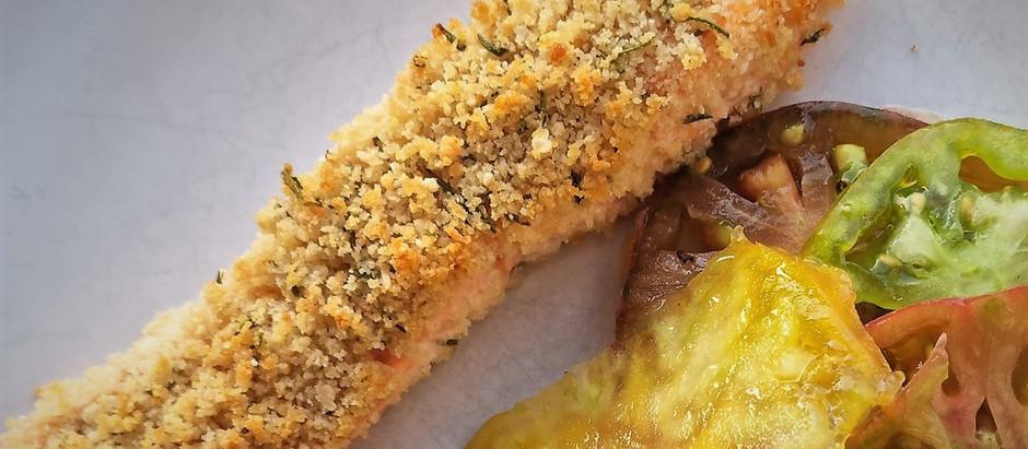 Croustillant de saumon au parmesan, une recette craquante