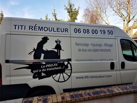"""Coup de projecteur sur Titi le rémouleur """"qui a du tranchant"""""""
