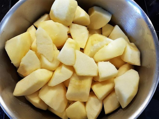 Faire fondre les pommes