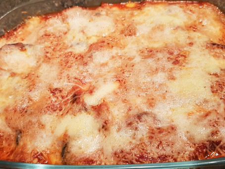 Parmigiana di melanzane - Aubergines à la parmesane